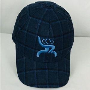 🤠 Hooey glexfit hat cap blue plaid